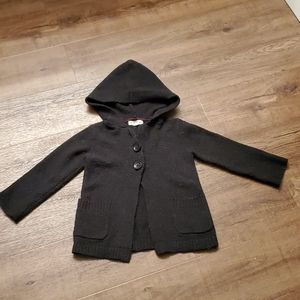 2T Tucker + Tate Button-Up Hoodie